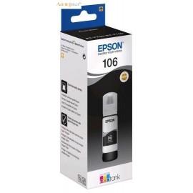 Epson 106 Ink Tank Photo Black | C13T00R140 оригинальные ink tankкартриджи 70 мл, фото-черный