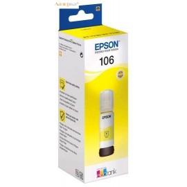 Epson 106 Ink Tank Yellow | C13T00R440 оригинальные ink tankкартриджи 70 мл, желтый