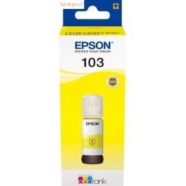 Epson 103 Yellow | C13T00S44A оригинальный струйный картридж 65 мл, желтый