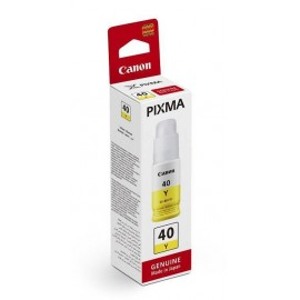 Canon GI-40Y Ink Tank Yellow | 3402C001 оригинальные ink tankкартриджи 7700 стр., желтый