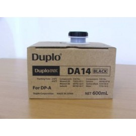 DA14 Ink Black | 90110_1 (Duplo) чернила для дупликатора - 600 мл, черный