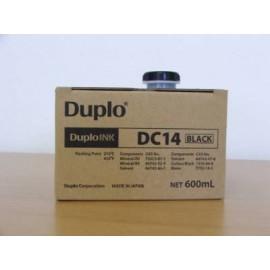 DC14 Ink Black | 90115 (Duplo) чернила для дупликатора - 600 мл, черный
