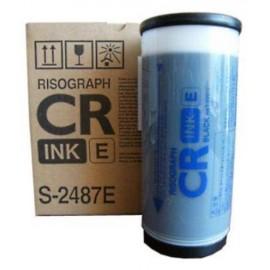 CR Black | S-2487E (RISO) чернила для дупликатора, черный