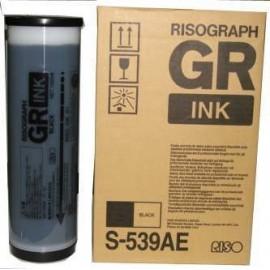GR ink Black | S-539AE / S-539E (RISO) чернила для дупликатора, черный