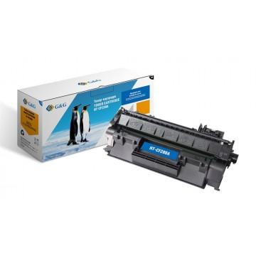 G&G NT-CF280A совместимый лазерный картридж 80A Black | CF280A - черный, 2700 стр