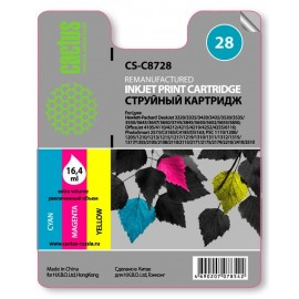 28 Color | C8728AE (Cactus) струйный картридж - 240 стр, цветной