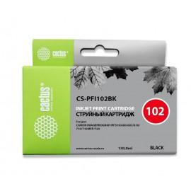 PFI-102BK | 0895B001 (Cactus) струйный картридж - 130 мл, черный