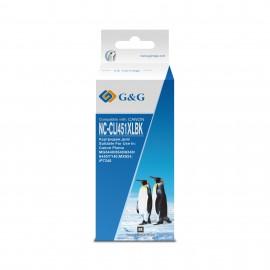 CLI-451Bk | 6523B001 (G&G) струйный картридж - 9,8 мл, черный