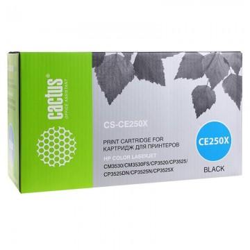 Cactus CS-CE250XV совместимый лазерный картридж 504X Black | CE250X - черный, 10500 стр