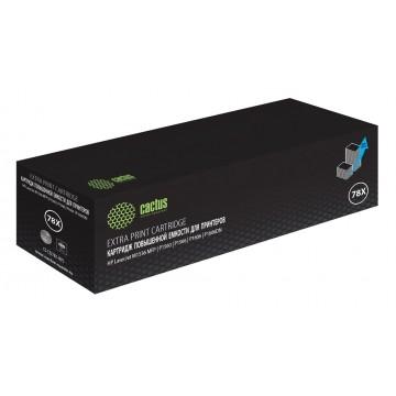 Cactus CS-CE278AS совместимый лазерный картридж 78A Black | CE278A - черный, 2100 стр