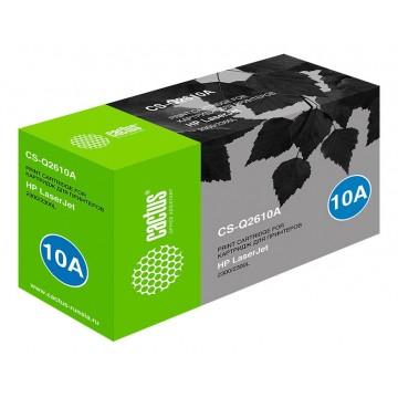 Cactus CS-Q2610A совместимый лазерный картридж 10A Black | Q2610A - черный, 6000 стр
