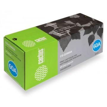 Cactus CS-Q3960A совместимый лазерный картридж 122A Black | Q3960A - черный, 5000 стр