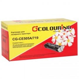 05A Black | CE505A (Colouring) лазерный картридж - 2300 стр, черный