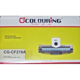 18A Black   CF218A (Colouring) без чипа тонер картридж - 1400 стр, черный