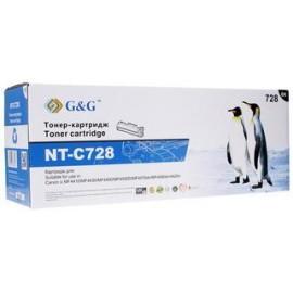 728 | 3500B010 (G&G) лазерный картридж - 2000 стр, черный
