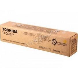 Toshiba T-FC55EY   6AG00002321/6AK00000117 тонер картридж - желтый