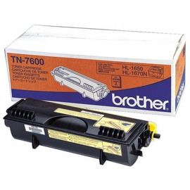 TN-7600 (тонер Brother) тонер картридж - 6 500 стр, черный