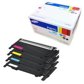 CLT-P407C Pack | SU389A тонер картридж Samsung, 4 * 1 000 стр., набор цветной + черный