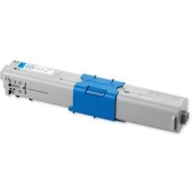 Oki 44469706 оригинальный лазерный картридж ресурс печати - 2 000 страниц, голубой