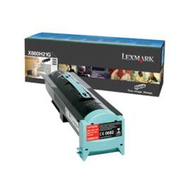 Lexmark X860H21G оригинальный лазерный картридж ресурс печати - 35 000 страниц, черный