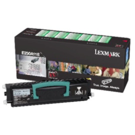 E250A11E Black (Lexmark) лазерный картридж - 3 500 стр, черный