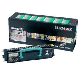 34016HE Black (Lexmark) лазерный картридж - 6 000 стр, черный