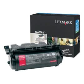 12A7362 Black (Lexmark) лазерный картридж - 21 000 стр, черный