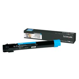 C950X2CG Cyan (Lexmark) лазерный картридж - 22 000 стр, голубой