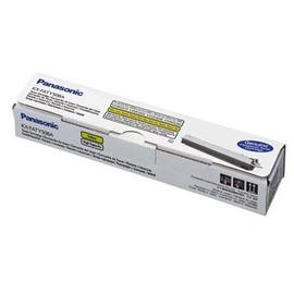 Panasonic KX-FATY508A оригинальный лазерный картридж ресурс печати - 4 000 страниц, желтый