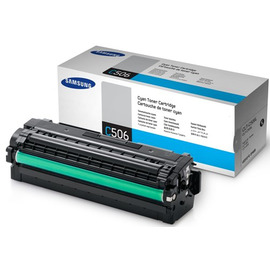 CLT-C506L   SU040A (Samsung) тонер картридж - 3 500 стр, голубой