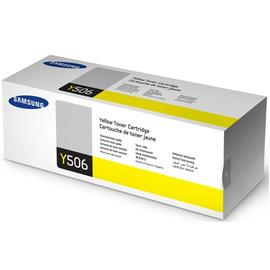 CLT-Y506S   SU526A (Samsung) тонер картридж - 1 500 стр, желтый