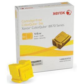 108R00960 Ink Sticks Yellow твердые чернила Xerox, 17 300 стр., желтый