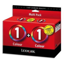 1 Color Pack | 80D2955E струйный картридж Lexmark, 2 * 230 стр., цветной