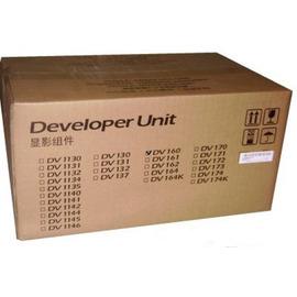 DV-160 Developer Unit   302LY93010 узел проявки Kyocera, 100 000 стр., черный