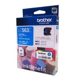 LC-563C (Brother) струйный картридж - 600 стр, голубой