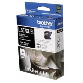 LC-567XLBk Black струйный картридж Brother, 1 200 стр., черный