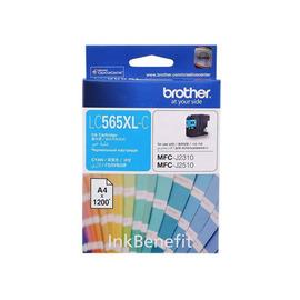 LC-565XLC (Brother) струйный картридж - 1 200 стр, голубой
