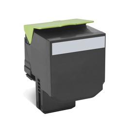 80C8SKE Black (Lexmark) лазерный картридж - 2 500 стр, черный