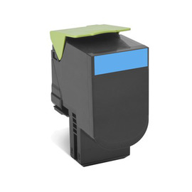80C8HCE Cyan лазерный картридж Lexmark, 3 000 стр., голубой