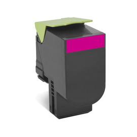 Lexmark 808HM 80C8HME оригинальный лазерный картридж ресурс печати - 3 000 страниц, пурпурный