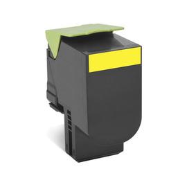 80C8HYE Yellow лазерный картридж Lexmark, 3 000 стр., желтый