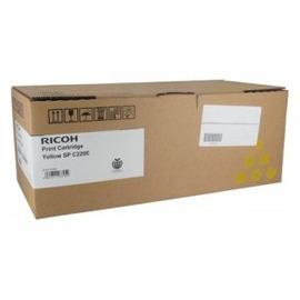 SP C220EY | 407643 тонер картридж Ricoh, 2 000 стр., желтый