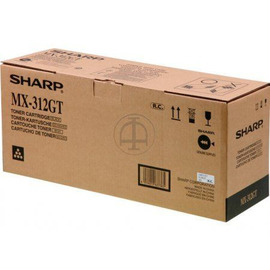 MX-312GT Toner Black тонер картридж Sharp, 25 000 стр., черный