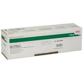 Oki 44574802 оригинальный лазерный картридж ресурс печати - 7 000 страниц, черный