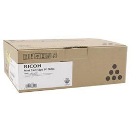 Ricoh SP 200LE оригинальный лазерный картридж ресурс печати - 1 500 страниц, черный