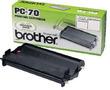 PC-70 (Brother) факсовая плёнка - 144 стр, черный