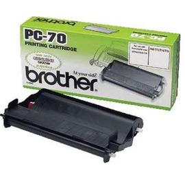 PC-70 Thermofilm факсовая плёнка Brother, 144 стр., черный