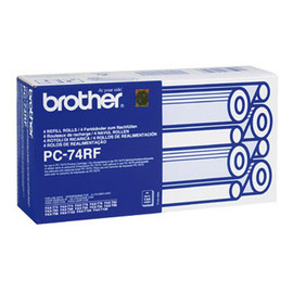 PC-74RF (Brother) факсовая плёнка - 4 x 144 стр, черный