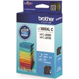 LC-665XLC (Brother) струйный картридж - 1 200 стр, голубой