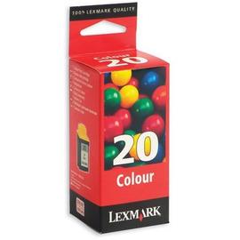 20 Color | 15MX120E (Lexmark) струйный картридж - 450 стр, цветной